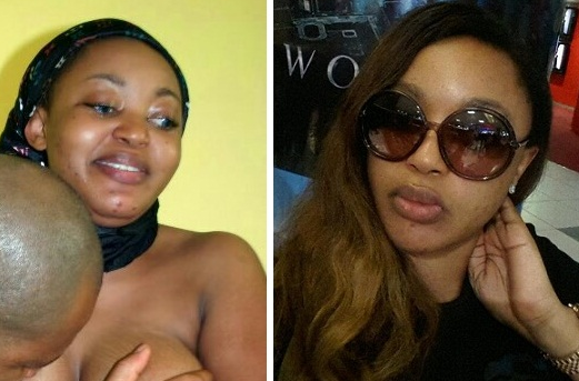 Actresses Ruth Eze & Biola Ige @ War Over N*de Picture ...